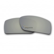 Replacement Polarized Lenses for Oakley Gascan (Silver Mirror)