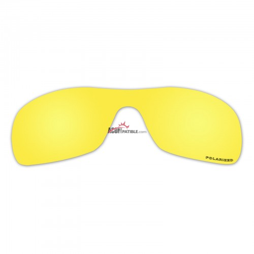 Replacement Polarized Lenses for Oakley Antix (Gold Mirror)