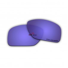Replacement Polarized Lenses for Oakley Big Taco OO9173 (Purple Coating  Mirror)