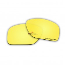 Replacement Polarized Lenses for Oakley Big Taco OO9173 (Golden Coating Mirror)