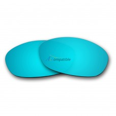 Replacement Polarized Lenses for Oakley Fives 2.0 (Ice Blue Mirror)