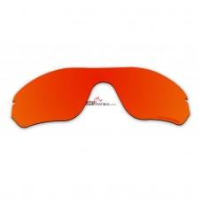 Replacement Polarized Lenses for Oakley Radar Edge OO9184 (Fire Red Mirror)