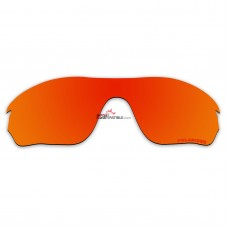 Polarized Lenses for Oakley Radarlock Edge OO9183 (Fire Red Mirror)