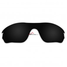 Replacement Polarized Lenses for Oakley Radarlock Edge OO9183 (Black)