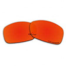 Replacement Polarized Lenses for Oakley Ravishing (Fire Red Mirror)