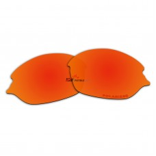 Replacement Polarized Lenses for Oakley Romeo 2 (Fire Red Mirror)