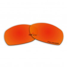 Replacement Polarized Lenses for Oakley Sideways (Fire Red Mirror)