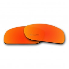 Replacement Polarized Lenses for Oakley Fives Squared (Fire Red Mirror)