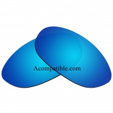 Replacement Polarized Lenses for Oakley Splice (Ice Blue Mirror)
