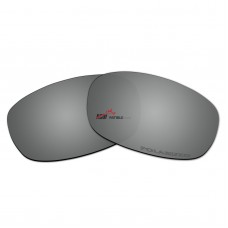Replacement Polarized Lenses for Oakley Square Wire 2.0 (Silver Mirror)