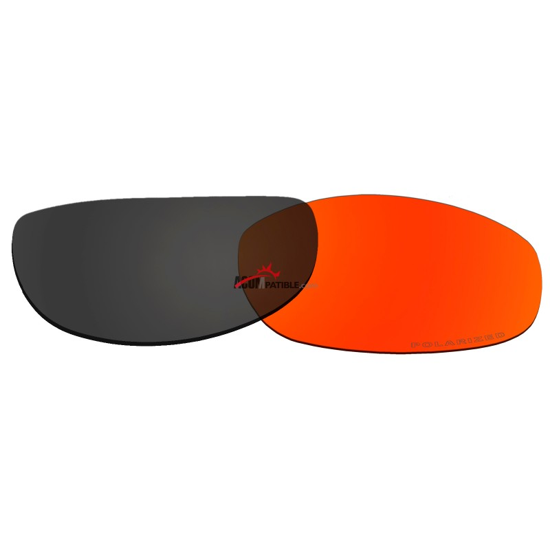 adab7a4c4de ... Replacement Polarized Lenses for Oakley Tightrope OO4040 (Fire Red  Mirror) ...