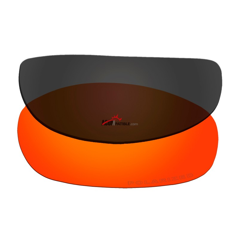 f820cf582c4 ... Replacement Polarized Lenses for Oakley Tightrope OO4040 (Fire Red  Mirror)