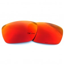 Replacement Polarized Lenses for Oakley Tinfoil OO4083 (Fire Red Mirror)