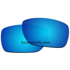 Replacement Polarized Lenses for Oakley Tinfoil OO4083 (Blue Color)