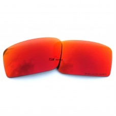 Replacement Polarized Lenses for Oakley Twitch (Fire Red Mirror)