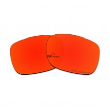 Replacement Polarized Lenses for Oakley Twoface OO9189 (Fire Red Mirror)
