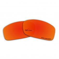 Replacement Polarized Lenses for Oakley Valve New (OO9236)  (Fire Red Mirror)