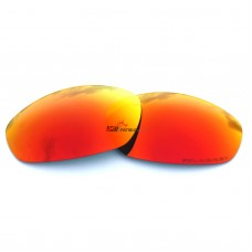 Replacement Polarized Lenses for Oakley Whisker (Fire Red Mirror)