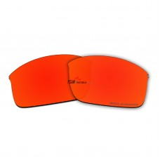 Replacement Polarized Lenses for Oakley Wiretap New (OO4071, 2013 & After) (Fire Red Mirror)