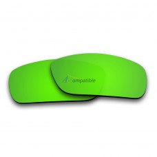 Polarized Lenses for Oakley Fuel Cell (Emerald Green Coating Mirror)