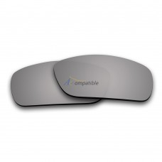 Replacement Polarized Lenses for Oakley Fuel Cell (Silver Coating Mirror)