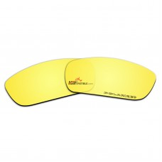 Replacement Polarized Lenses for Oakley Fuel Cell (Gold Mirror)