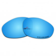 Replacement Polarized Lenses for Oakley X Metal XX  (Ice Blue Coating Mirror)