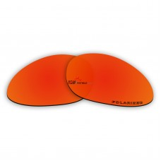 Replacement Polarized Lenses for Oakley Eye Jacket 2.0 (Fire Red Mirror)