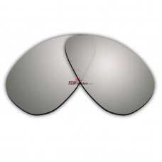Replacement Polarized Lenses for Oakley Minute (Gen 2)  (Silver Mirror)