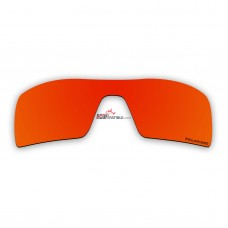 Replacement Polarized Lenses for Oakley Oil Rig II (Fire Red Mirror)