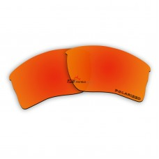 Polarized Lenses for Oakley Quarter Jacket OO9200 (Fire Red Mirror)