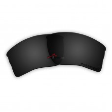 Replacement Polarized Lenses for Oakley Quarter Jacket OO9200 (Black)