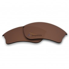 Replacement Polarized Lenses for Oakley Half Jacket XLJ (Bronze Brown)