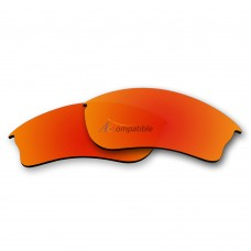 Replacement Polarized Lenses for Oakley Half Jacket XLJ (Fire Red Coating)