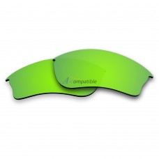 Replacement Polarized Lenses for Oakley Half Jacket XLJ (Green Coating)