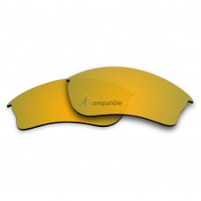 Replacement Polarized Lenses for Oakley Half Jacket XLJ (Golden Yellow Coating)