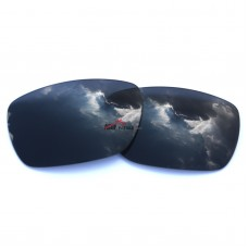Replacement Polarized Lenses for Oakley Tinfoil Carbon OO6018 (Black Color)