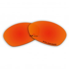 Replacement Polarized Lenses for Oakley Valve (Old Version,2005 & Before) (Fire Red Mirror)