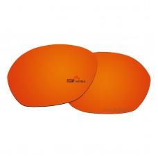 Replacement Polarized Lenses for Oakley Warm Up OO9176 (Fire Red Mirror)