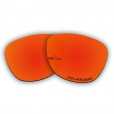 Replacement Polarized Lenses for Oakley Frogskins (Asian Fit) (Fire Red Mirror)