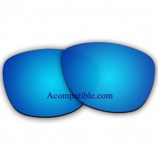 Replacement Polarized Lenses for Oakley Frogskins (Asian Fit) OO9245 (Blue Coating Mirror)