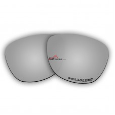 Polarized Lenses for Oakley Frogskins (Asian Fit) (Silver Coating Mirror)