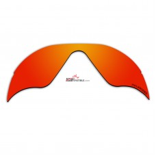 Replacement Polarized Lenses for Oakley Radar Range (Fire Red Mirror)