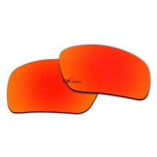 Replacement Polarized Lenses for Oakley Triggerman OO9266 (Fire Red Mirror)
