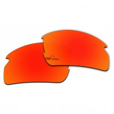 Replacement Polarized Lenses for Oakley Flak 2.0 OO9295 (Fire Red Mirror)