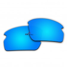 Replacement Polarized Lenses for Oakley Flak 2.0 OO9295 (Blue Mirror)