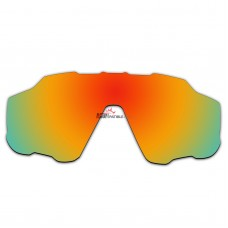 Replacement Polarized Vented Lenses for Oakley Jawbreaker OO9290 (Fire Red Mirror)