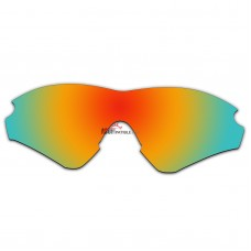 Replacement Polarized Lenses for Oakley M2 Frame XL (Asia Fit) OO9345 (Fire Red Mirror)