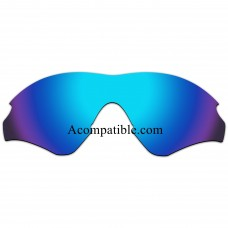 Replacement Polarized Lenses for Oakley M2 Frame XL (Asia Fit) OO9345 (Ice Blue Coating)