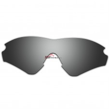 Replacement Polarized Lenses for Oakley M2 Frame XL (Asia Fit) OO9345 (Silver Coating)